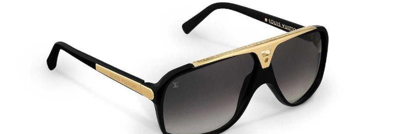 LV Gold Sunglasses