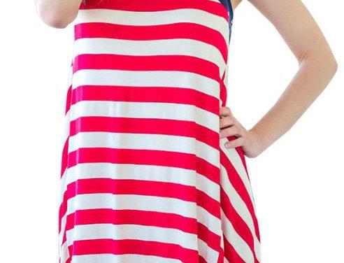 Loose Flag Dress