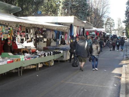 """Mercato di Saronno: le possibili soluzioni per i banchi """"non alimentari"""""""