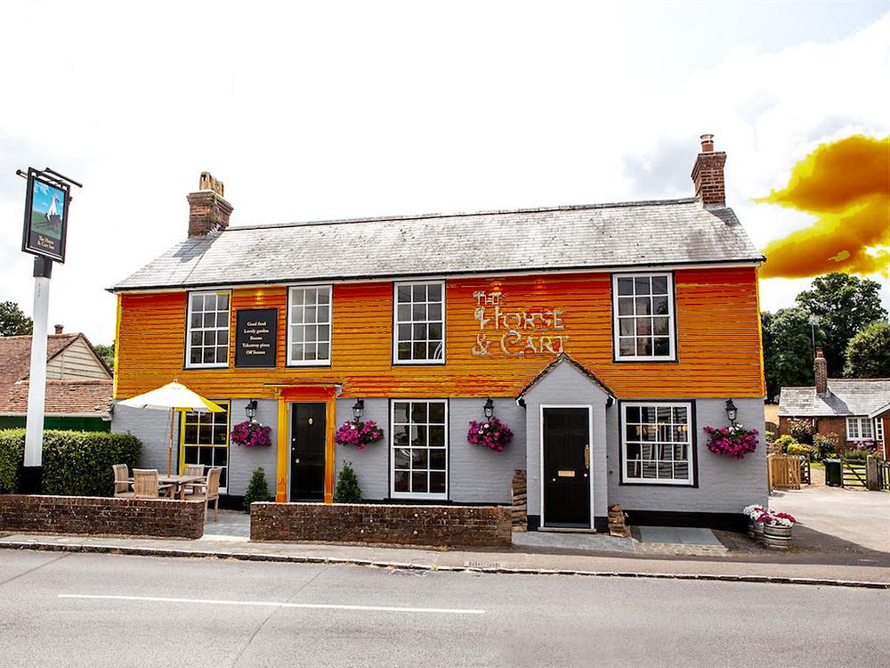 The Horse & Cart Inn of Orange 🤣