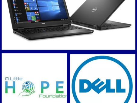 Dell partners with Louis Hernandez Jr.'s A Little Hope Foundation, donates laptops to support Schola