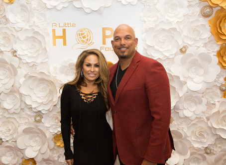 Baseball legend David Justice appearing at Louis Hernandez Jr.'s A Little Hope Foundation inaugural