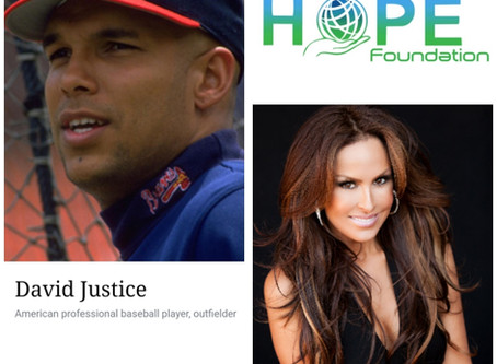 All-Star MLB Outfielder David Justice and Wife Rebecca to join May 9 Gala at The village studios