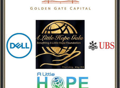 Louis Hernandez Jr.'s A Little Hope Foundation Announces Initial Sponsors for May 9 Gala