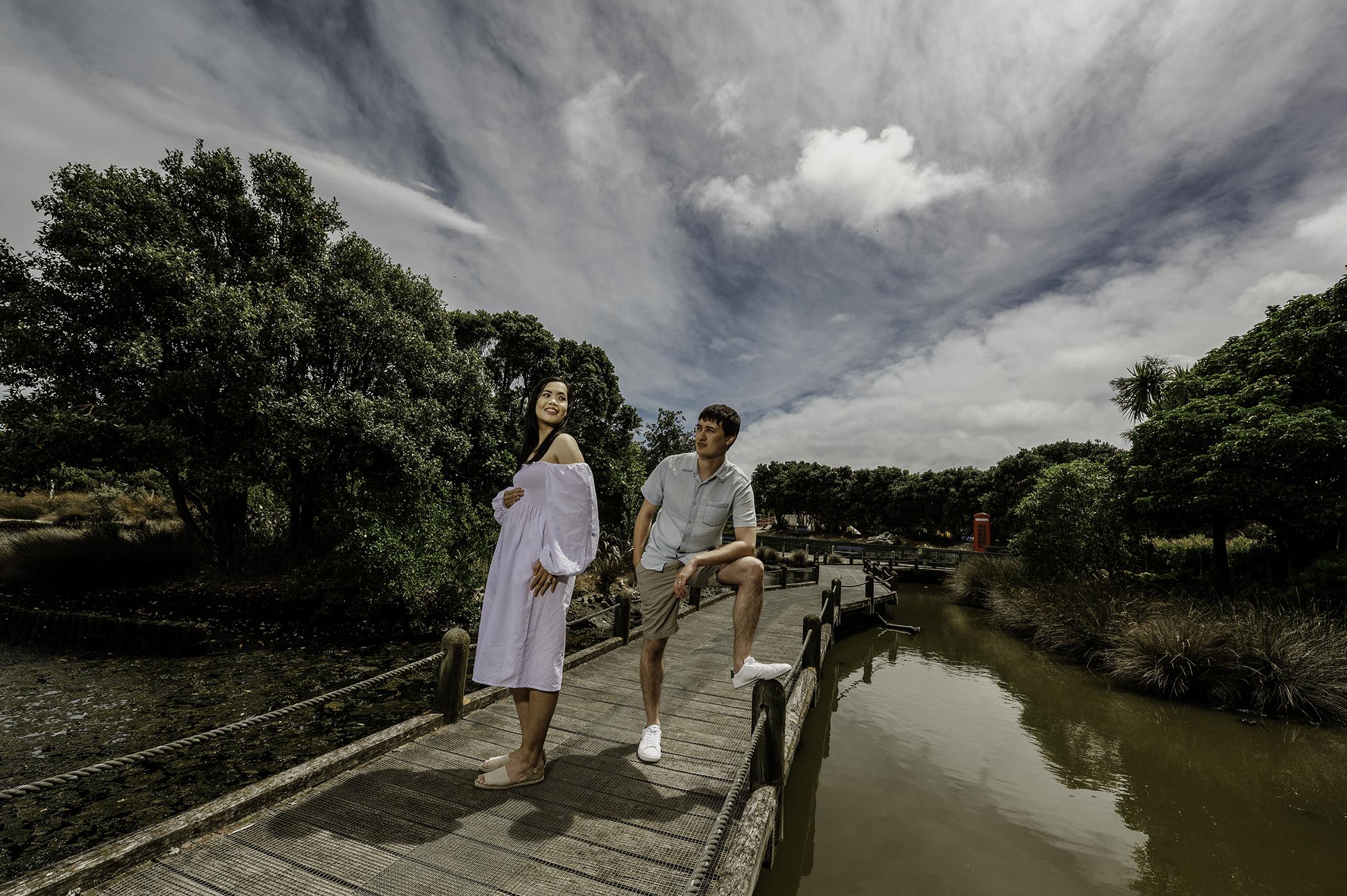 New Zealand Engagement Photoshoot