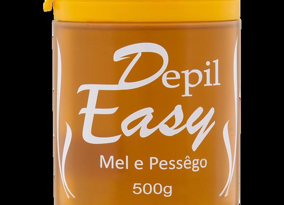 CERA DEPIL-EASY 500G MEL E PÊSSEGO