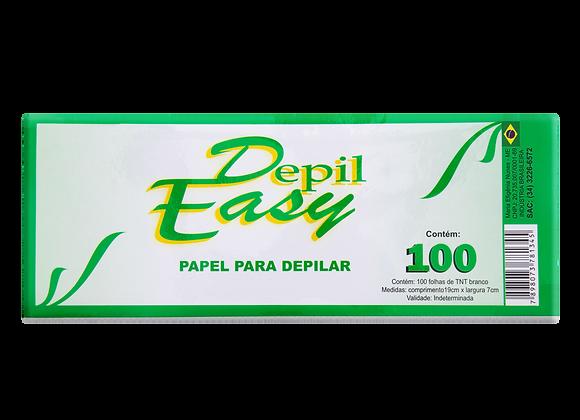 Papel depilatório depil-easy 100 unid