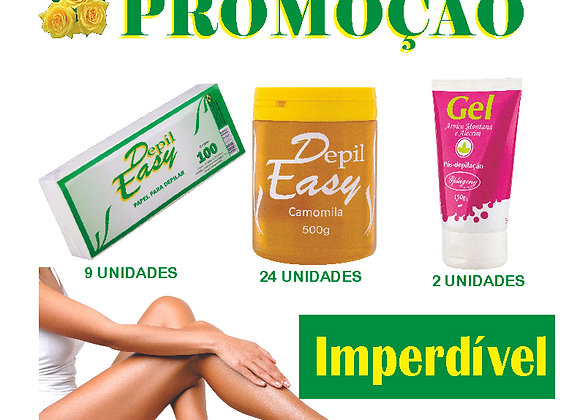 Combo Profissional 02  Depil-Easy