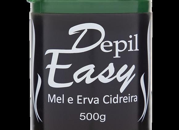 CERA DEPIL-EASY 500G MEL E ERVA CIDREIRA