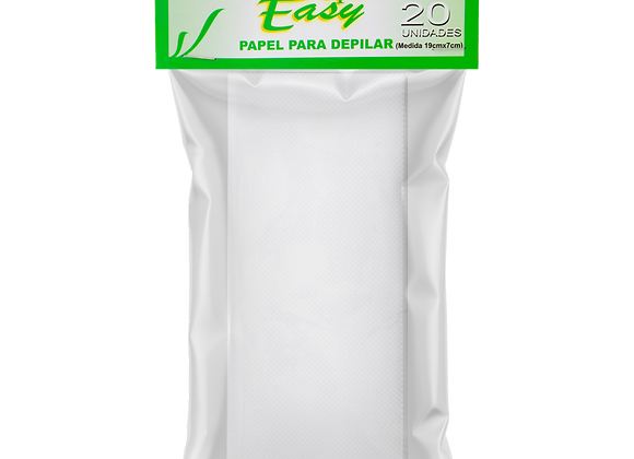 Papel depilatório depil-easy 20 unid