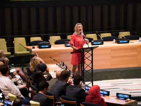 """SPEECH: """"The Only War We Need to """"Win"""" (United Nations)"""