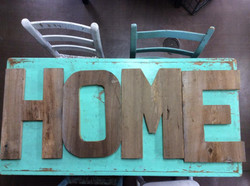 Handcrafted Antique Wood Pieces!