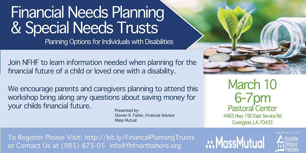 Financial Planning & Special Needs Trusts