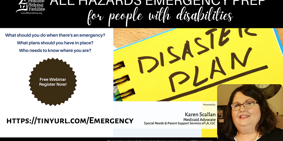 All Hazard Prep for People with Disabilities