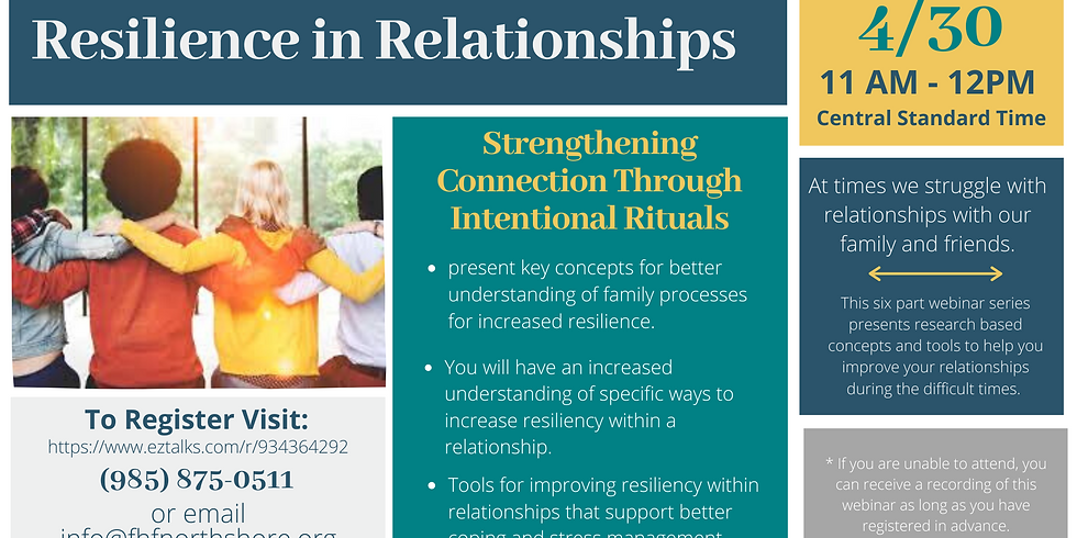 Strengthening Connection Through Intentional Rituals
