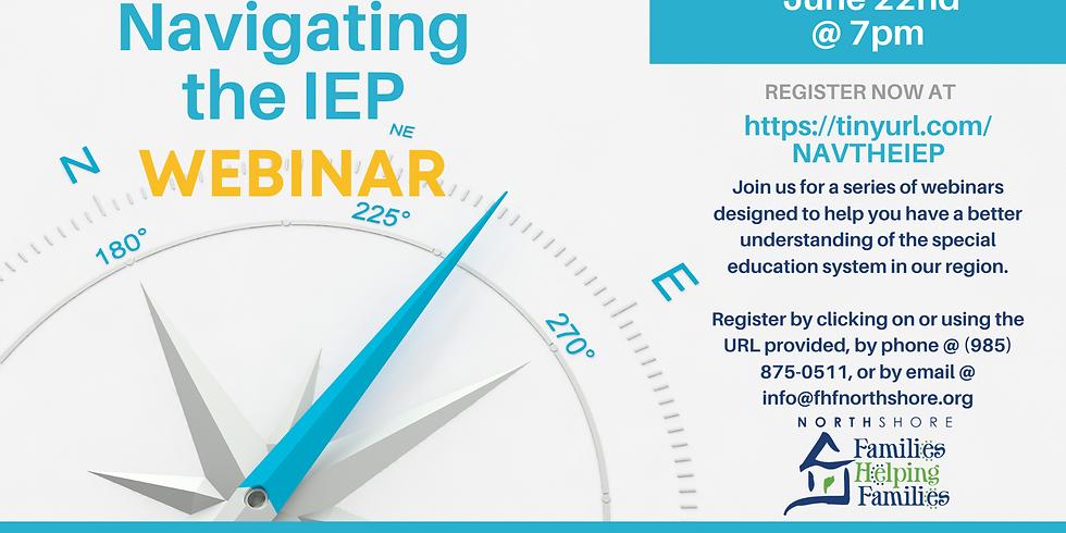 Navigating the IEP