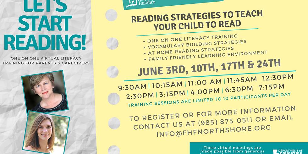 Literacy & Lemonade Let's Start Reading