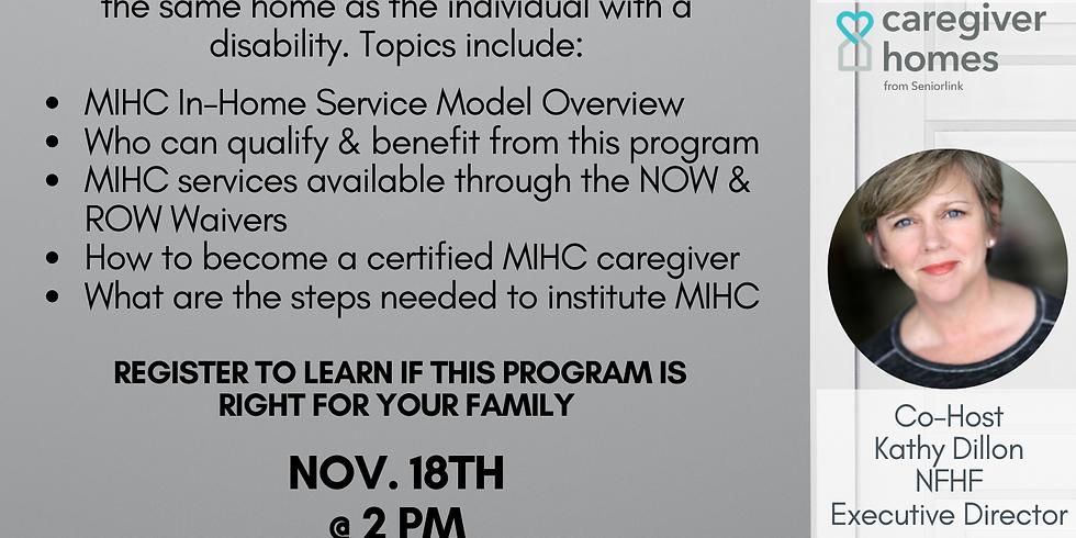 Monitored In-Home Caregiving Nov. 19