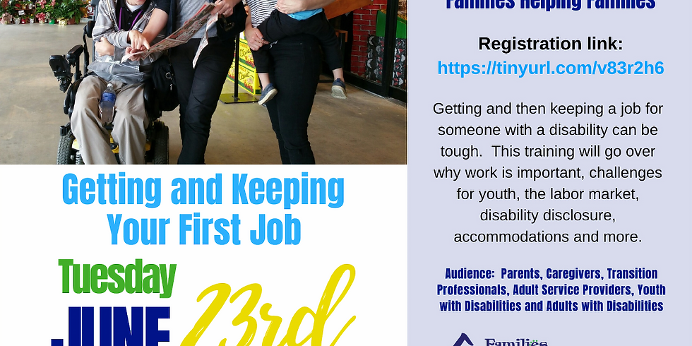 Getting and Keeping Your First Job