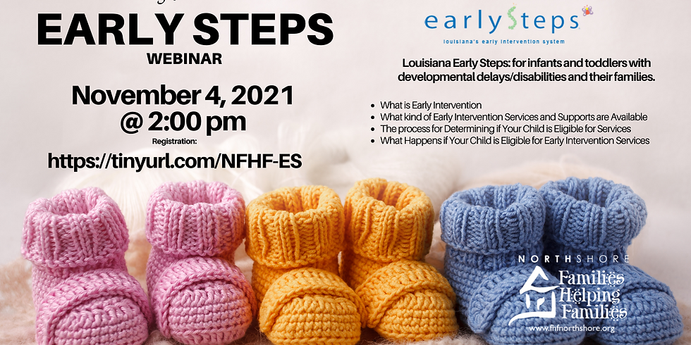 Intro to Early Steps