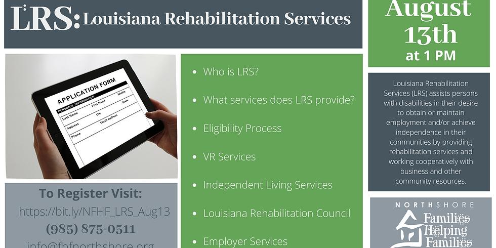LRS: Louisiana Rehabilitation Services