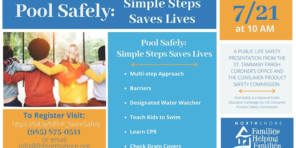 Pool Safely: Simple Steps Saves Lives
