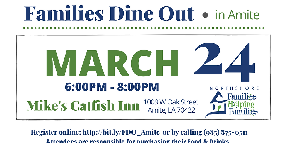 Families Dine Out in Amite