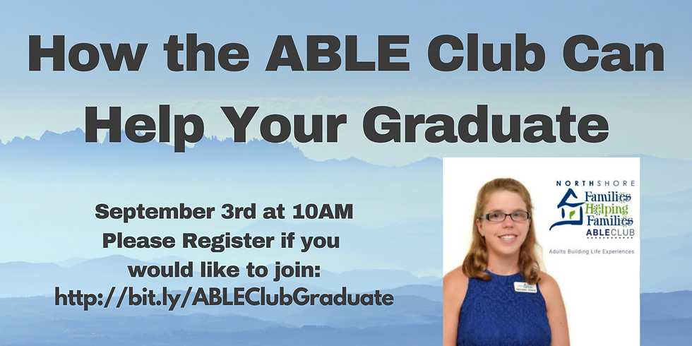 How Can the ABLE Club Help Your Graduate?