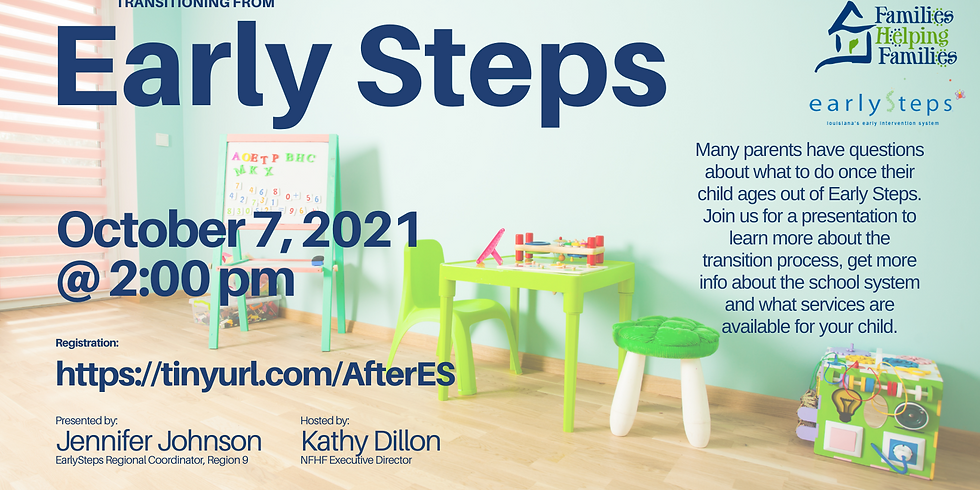 Transitioning from Early Steps