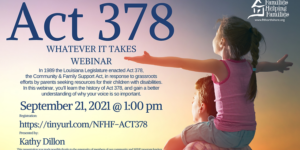 Whatever it Takes: ACT 378 Webinar