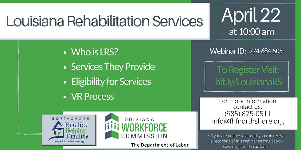 Louisiana Rehabilitation Services