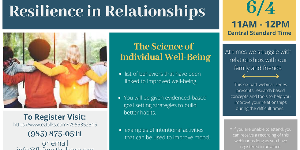 The Science of Individual Well-Being