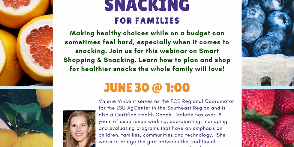 Smart Shopping & Snacking