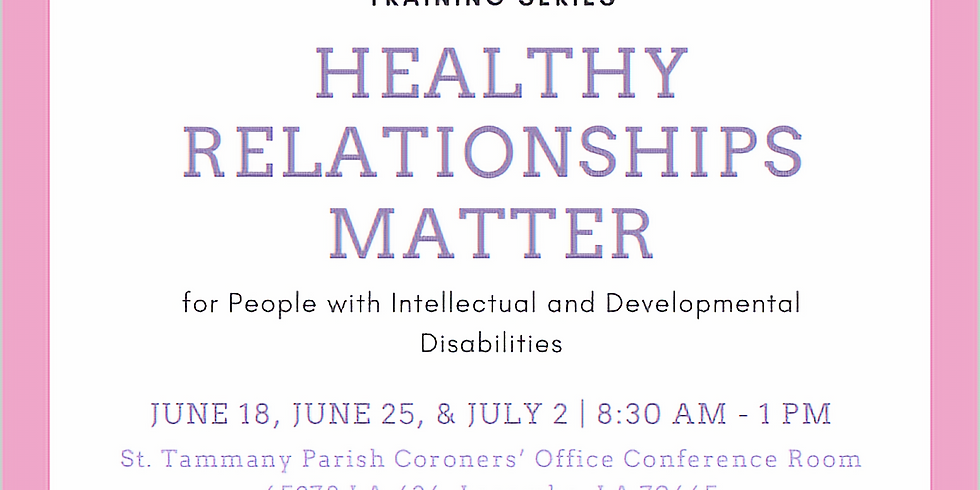 Healthy Relationships Matter Day 3