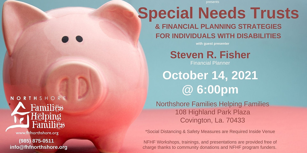 Financial Planning for Individuals with Disabilities
