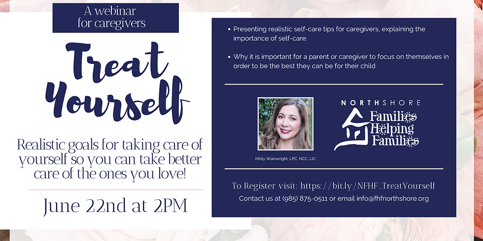 Treat Yourself: Realistic Goals and Tips for Parents and Caregivers