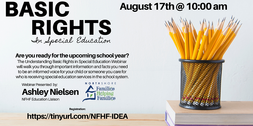 Basic Rights in Special Education Webinar