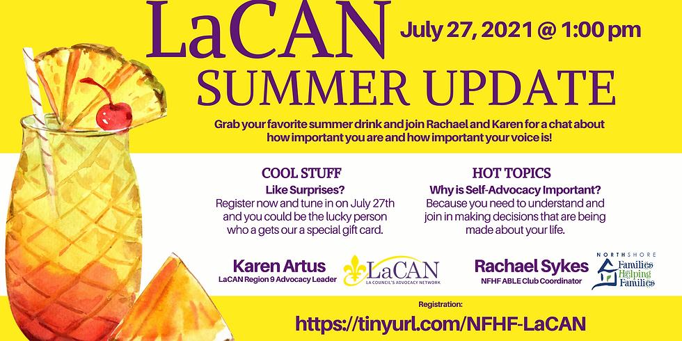 LaCAN Summer Update