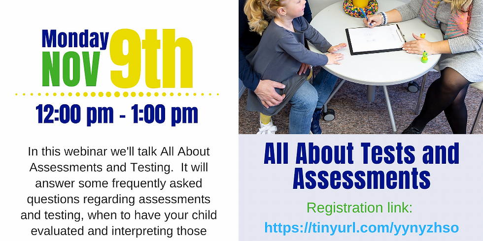 All About Tests & Assessments