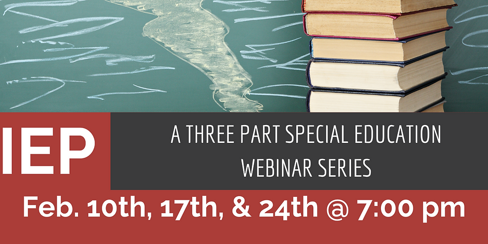 Special Education IEP Series with Ashley