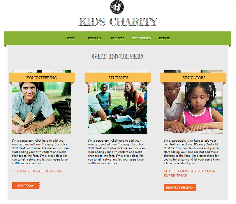 description raise funds and awareness for your charity or nonprofit organization with this friendly and upbeat website template