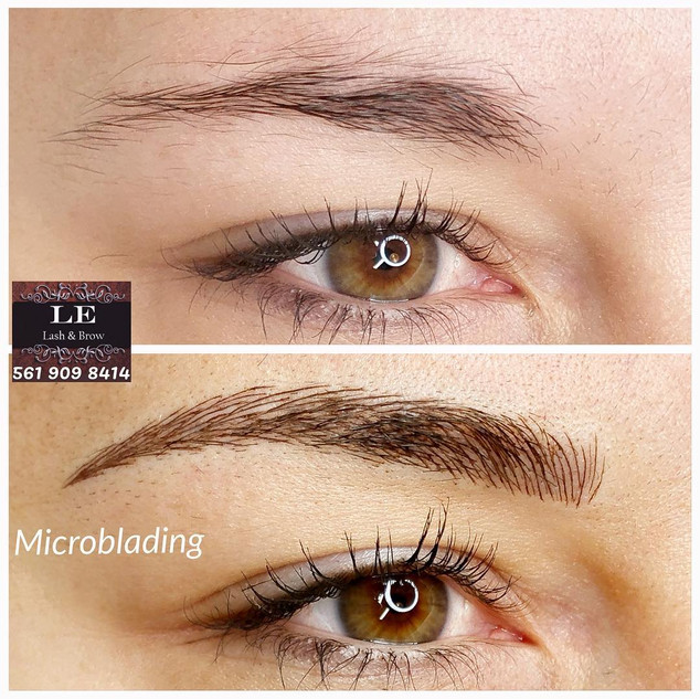 Microblading with Le in Delray Beach, FL