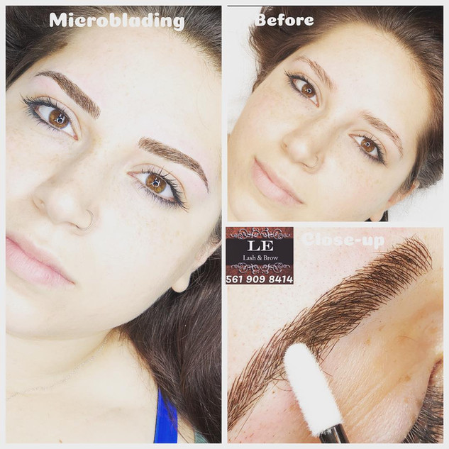 Microblading is the perfect way for a natural & defined brows look