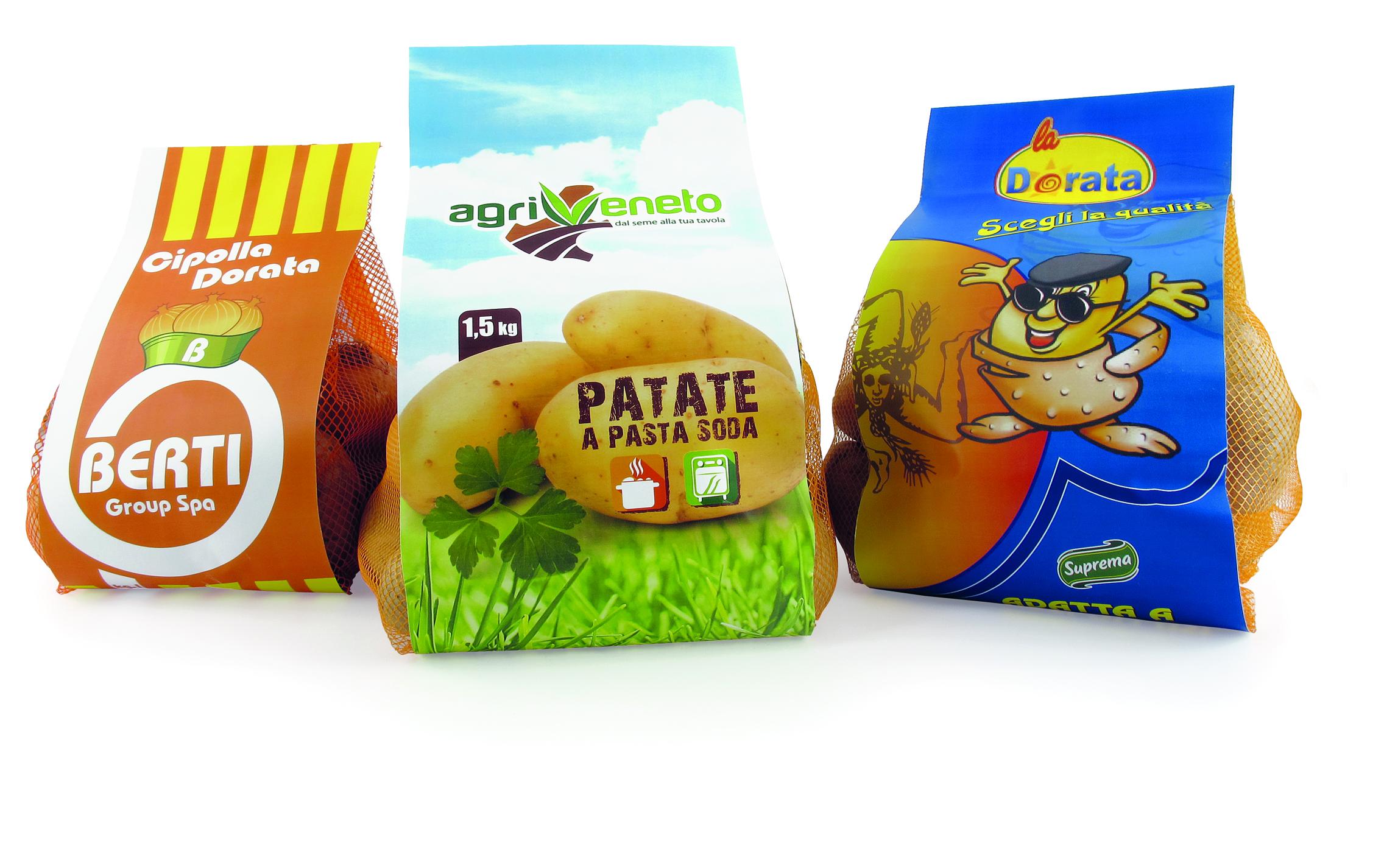 confezioni patate Agriveneto