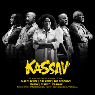 Upcoming Event: Let's celebrate 40 years of KASSAV' career in Mauritius on November 29, 2019