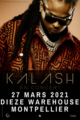 Upcoming Event / Postponed: KALASH will be live in Montpellier, South of France on March 27, 2021!