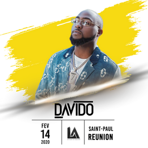 Upcoming Event: DAVIDO is confirmed for a Live Concert in La Reunion Island for Valentine's Day