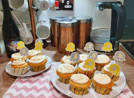 Vegan Lemon Drizzle Cupcakes - zesty!