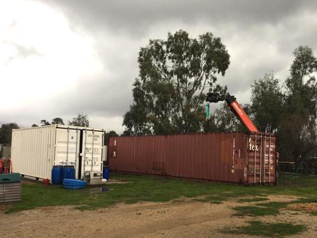 Neuer Container in Betrieb genommen