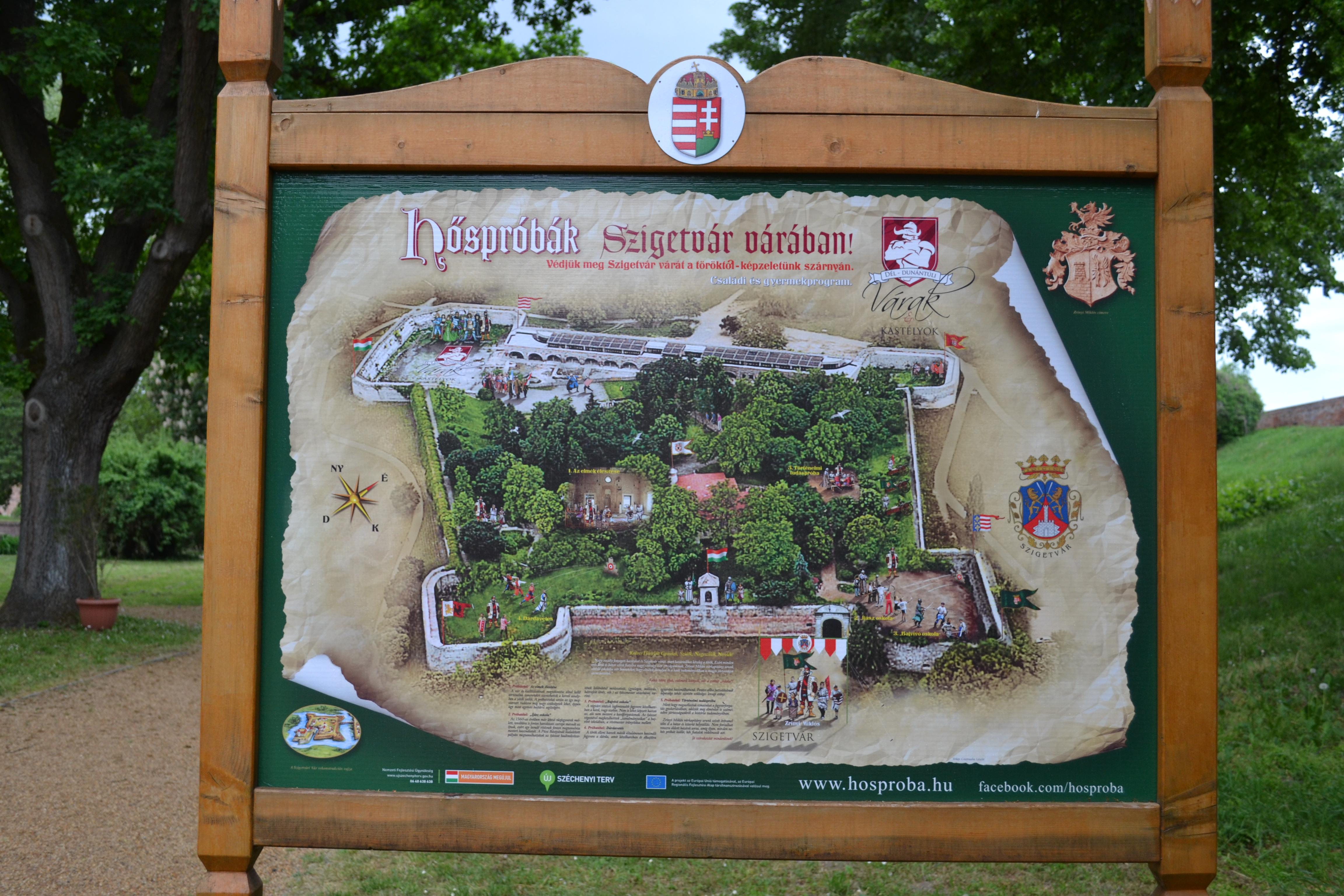 Het oorlogsmuseumpje in Szigetvar